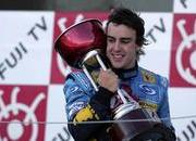 japan f1 race result schumacher engine blows alonso wins.-103093