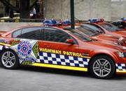holden ss commodore police car-159477
