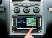 -touran available with rns 510 radio navigation system