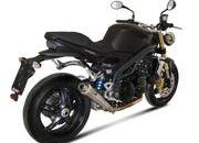 102.2007 triumph speed triple with mivv exhaust system