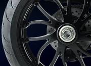 96.2008 triumph speed triple 1050 rear wheel