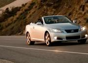 lexus is250 and is350 convertible-301149