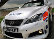 lexus is-f police car 3