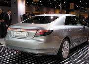 video saab unveils the new 9-5 at the 2009 south florida international auto show-329623