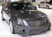 cadillac cts-v at the 2009 south florida international auto show-329536