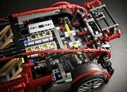 bugatti veyron built from lego blocks-345064