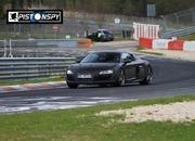 audi r8 clubsport gt spied testing at the green hell 3