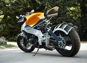 the ktm side of a honda cbr 1000f-359695