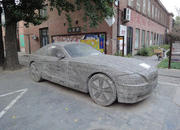 found in china bmw z4 made from block of stone-364893