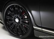bentley continental flying spur black bison by wald international-374605