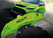 the ford focus rs gets new colorful brakes by mov 8217 it-374719