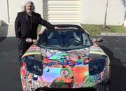 tesla roadster art car by laurence gartel-385664