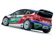 ford abu dhabi fiesta rs wrc rally car-391546