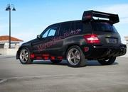 mercedes glk350 hybrid pikes peak rally car by renntech-393795