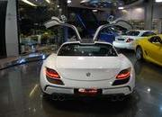 mercedes sls amg gullstream by fab design-393728