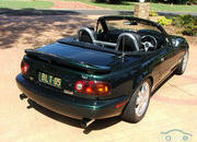 mazda mx-5 bullet roadster lives and breathes its v8 engine-407622