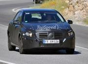 spy shots next generation mercedes a-class reveals its brand new shape-409347
