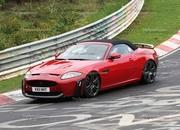 spy shots 2013 jaguar xkr-s convertible-412602