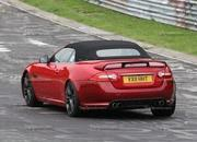 spy shots 2013 jaguar xkr-s convertible-412607