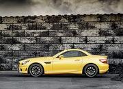 mercedes slk 55 amg streetfighter yellow-428511