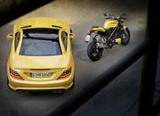 mercedes slk 55 amg streetfighter yellow-428525