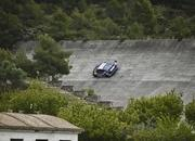 video red bull audi r8 lms racing around abandoned racetrack in spain 3