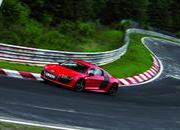 audi r8 e-tron becomes fastest electric vehicle around the nurburgring-462977