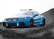 mercedes-benz sl65 amg black series by adv.1 wheels-466324