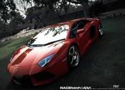 lamborghini aventador by adv.1 wheels-467923