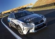 lexus gs 350 f sport safety car 3