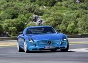 mercedes sls amg coupe electric drive-475355