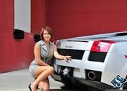 ashley models with a lamborghini gallardo and bmw m3 sport pack-474621