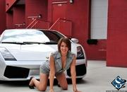 ashley models with a lamborghini gallardo and bmw m3 sport pack-474643
