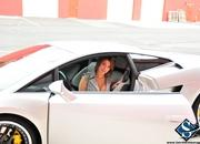 ashley models with a lamborghini gallardo and bmw m3 sport pack-474646