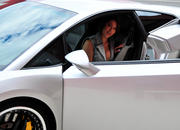 ashley models with a lamborghini gallardo and bmw m3 sport pack-474649