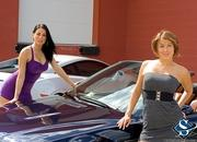 ashley models with a lamborghini gallardo and bmw m3 sport pack-474675