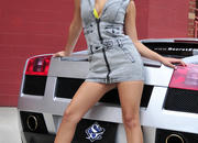 ashley models with a lamborghini gallardo and bmw m3 sport pack-474615
