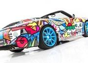 porsche 911 cabriolet art car by romero britto-485711