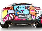 porsche 911 cabriolet art car by romero britto-485712