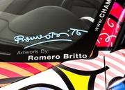 porsche 911 cabriolet art car by romero britto-485716