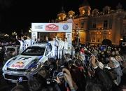 volkswagen polo r wrc rally car-485769