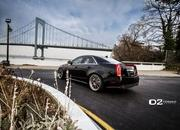 cadillac cts-v with d2forged wheels-486977