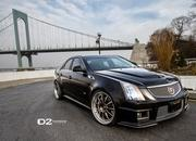cadillac cts-v with d2forged wheels-486975