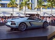 lamborghini ramping up 50th anniversary with aventador roadster launch in miami-490876
