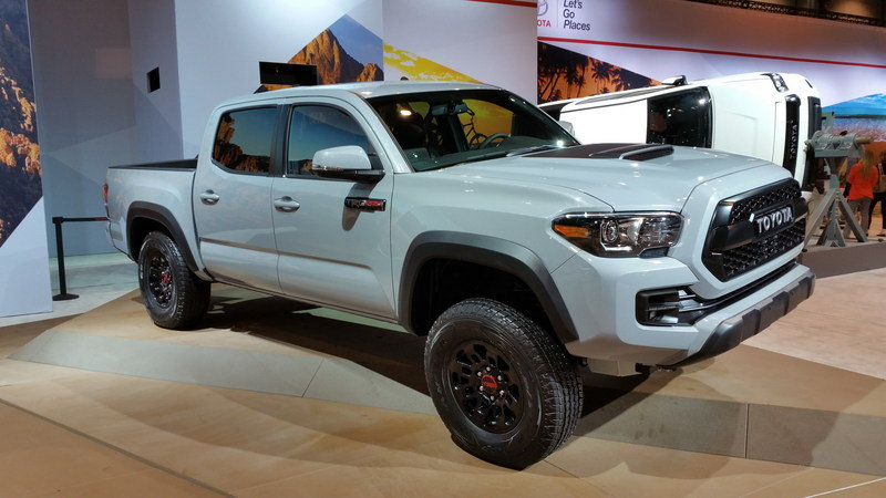 2017 Toyota Tacoma TRD Pro - Picture 666065 | truck review @ Top Speed